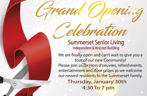 Summerset Lincoln Grand Opening Flyer
